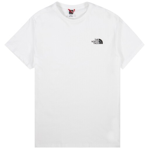 The North Face Tees The North Face s/s simple dome tee White