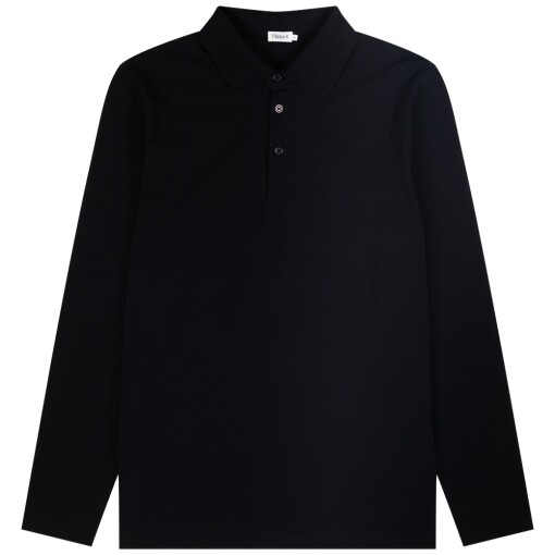Filippa K Polo Shirts Filippa K luke lycra polo shirt Black