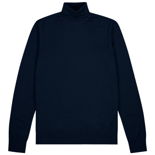 Samsoe & Samsoe Knitwear Samsoe & Samsoe flemming turtle neck 3111 Night Sky