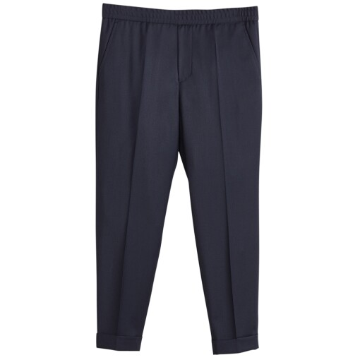 Filippa K Trousers Filippa K terry gabardine cropped trousers Navy