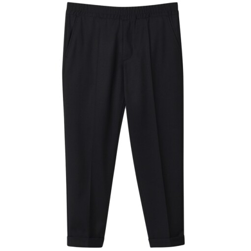 Filippa K Trousers Filippa K terry gabardine cropped trousers Black