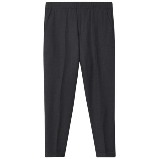Filippa K Trousers Filippa K terry gabardine cropped trousers Anthracite