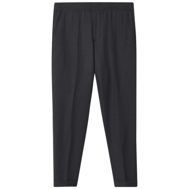 Filippa K  22023-7766 grijs Terry Gabardine Cropped Trousers
