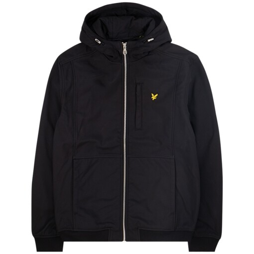 Lyle & Scott softshell jacket Jet Black