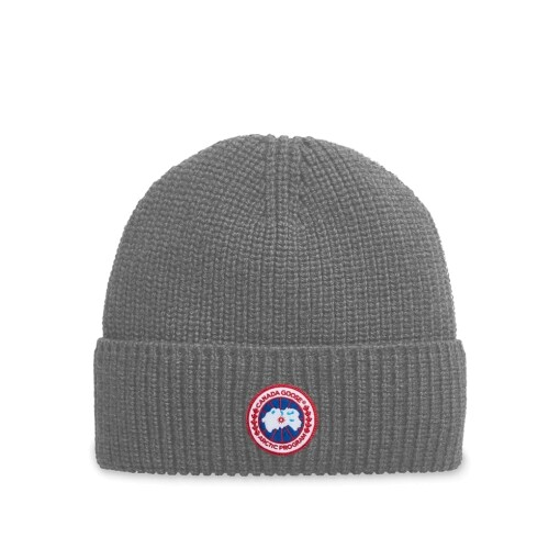 Canada Goose Hats Canada Goose artic disc rib toque Heather Grey