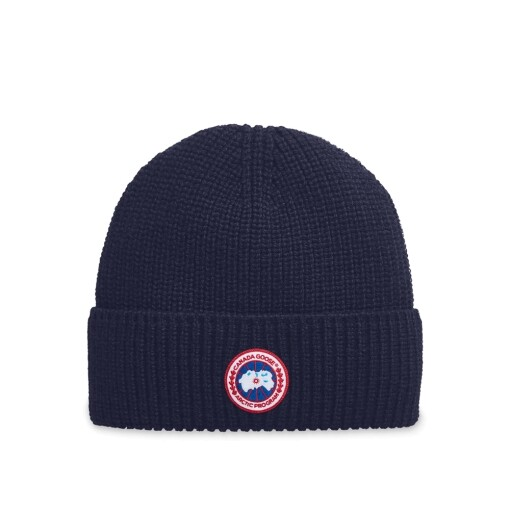 Canada Goose Hats Canada Goose artic disc rib toque Navy Heather