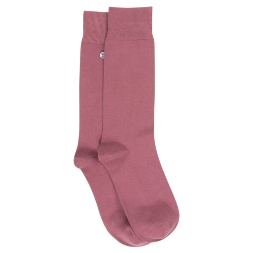 Manitou socks mulberry Rose