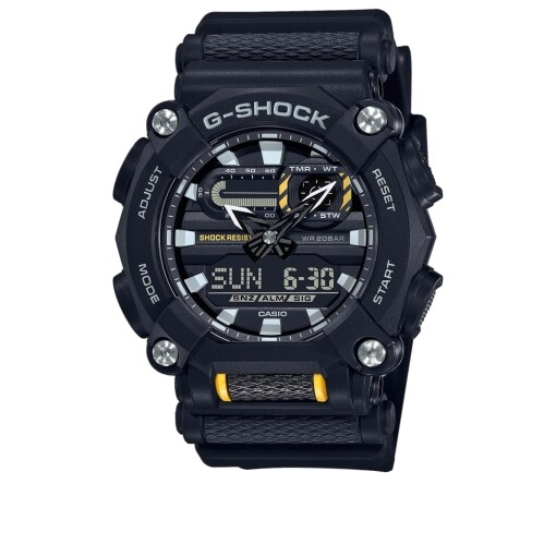 G-Shock Watches G-Shock gs ga-900-1aer Black