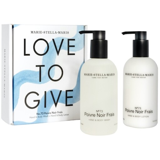 Marie-Stella-Maris Skin Care Marie-Stella-Maris love to give set poivre noir frais 2 x 300 ml